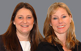 Claire Snaydon and Jane Symonds Willmot